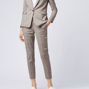 Hugo Boss NEW Brown Stretch wool trouser sz 14